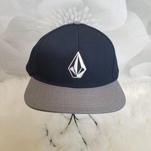 Volcom Snapback Adjustable Cap Hat W/Front Logo